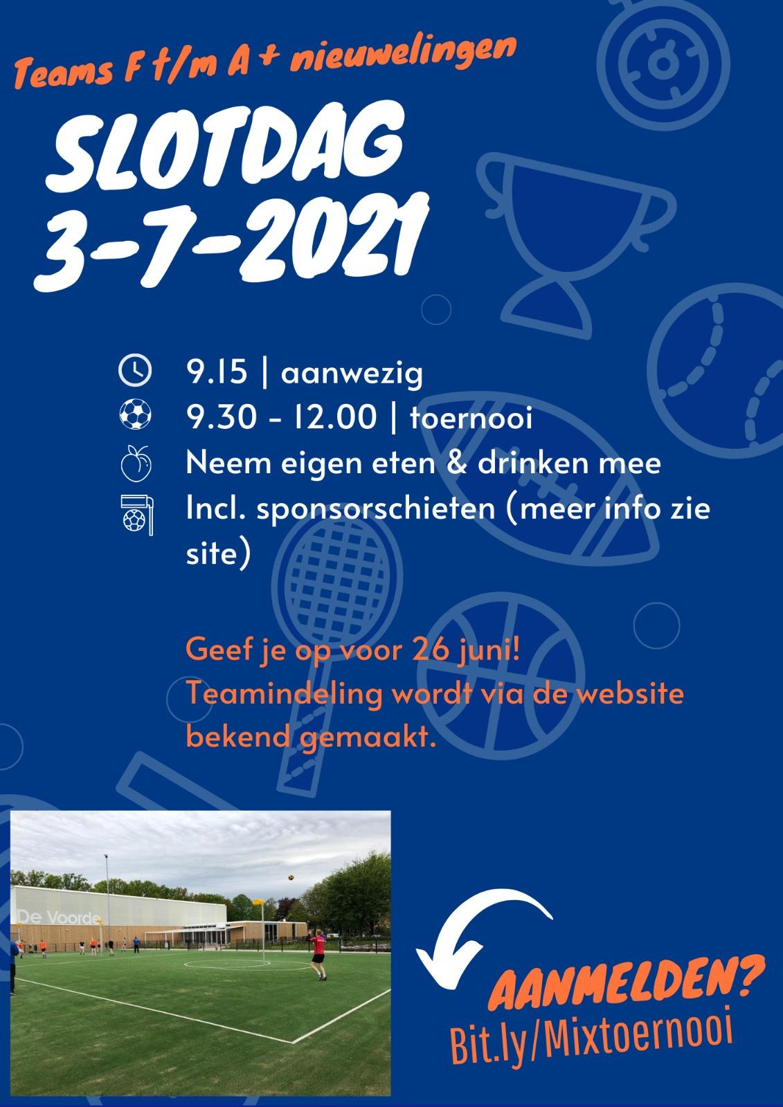 Slotdag 3-7-2021